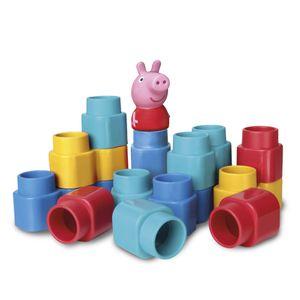 Fofo Blocos 15 peças - Peppa Pig