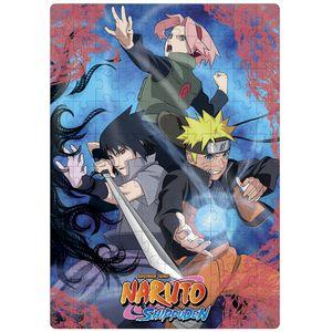 Puzzle Play 100 peças - Lente Mágica - Naruto Shippuden
